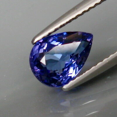 1.43Ct.Best Color! Natural Top Purplish Blue Tanzanite Full Sparkling&Eye Clean!