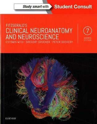 Fitzgerald's Clinical Neuroanatomy and Neuroscience by Estomih Mtui (English) Pa