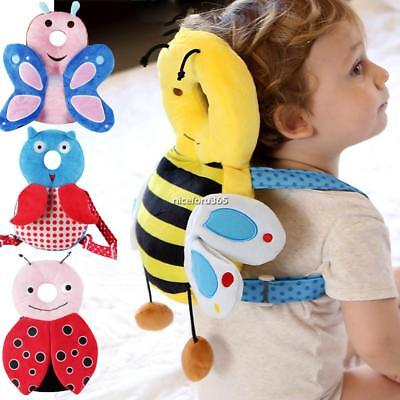 Baby Adjustable Strap Anti Fall Pillow for Learning Walk Sitting Head N4U8