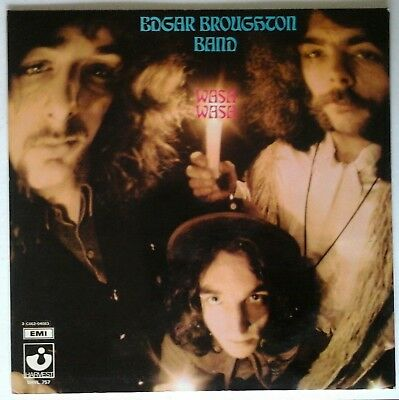 EDGAR BROUGHTON BAND - WASA WASA emi harvest 04083 LP 33 giri IT 1969 laminato