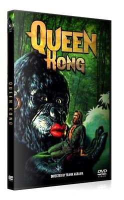 QUEEN KONG (King Kong Woman Girl) DVD Rare sous-titres français French subtitles