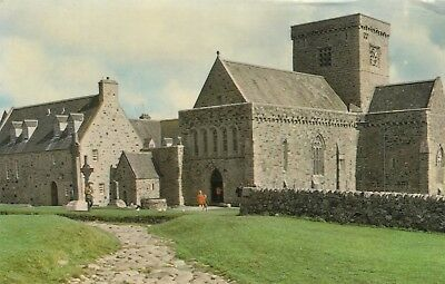 Postcard - Iona - Iona Abbey and Street of the Dead
