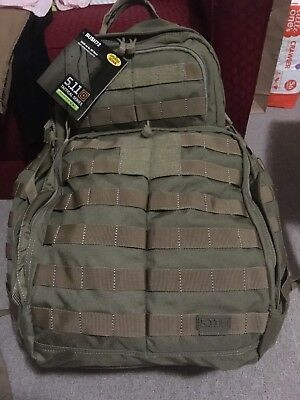 5.11 TACTICAL RUSH 72 Sandstone LARGE BACK PACK  - NEW GENUINE