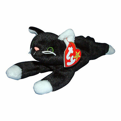 deba638268d TY BEANIE BABY ~ CABARET the Black   White Cat ~ MWMT -  14.90 ...