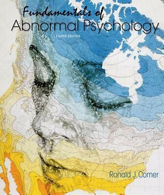 Fundamentals of Abnormal Psychology 8th Edition by Ronald J. Comer (English) Pap