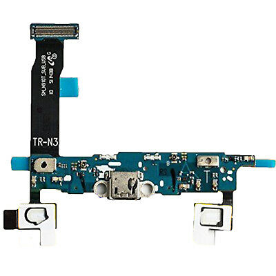 Original Samsung Ladebuchse Galaxy Note 4 N910F Flex Kabel USB Port Connector