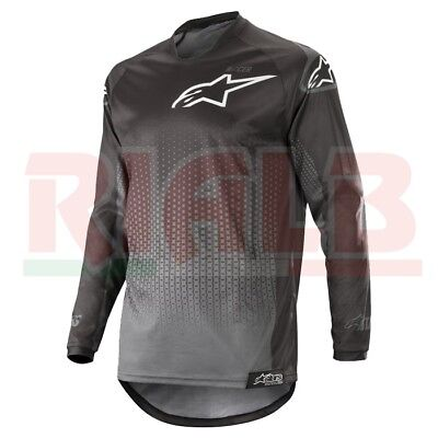 Alpinestars RACER GRAPHITE Cross Motorcycle Jersey for OffRoad and ATV