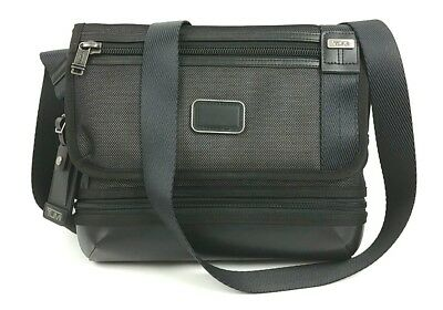 925da0969569 TUMI ALPHA BRAVO Men Black Beale Crossbody Ballistic Nylon Laptop ...