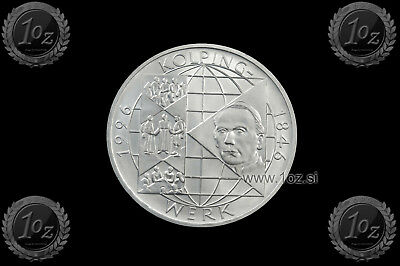 GERMANY 10 MARK 1996 A ( KOLPINGWERK ) SILVER Commemorative Coin (KM# 188) aUNC