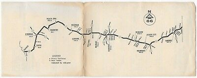 Old Highway 66 Arizona Map & Driving Tips  Governors Safety Council  Phoenix AZ