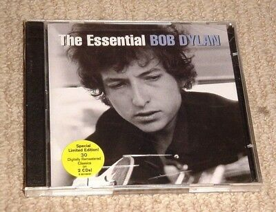 New Sealed The Essential Bob Dylan Greatest Hits 2 Cd Set Le + Free Shipping