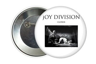 Badge Pin Button 38 mm Joy Division Ian Curtis Closer