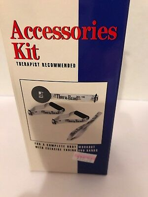 Thera-Band Accessories Kit Exercise / Workout Resistance Bands