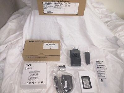 Vertex Standard EVX-539 136-174 MHz VHF DMR Radio Package DO-5 AC115N002