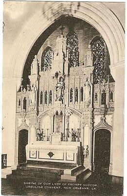 URSULINE CONVENT SHRINE New Orleans La Postcard