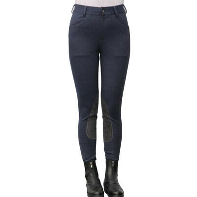 Equestrian Jodhpurs Pants Cotton Stretchy Breeches Horse Riding Competition