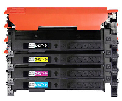 4Pk CLT-404S Toner Cartridge for Samsung Xpress C430 C430W C480 C480FW C480W