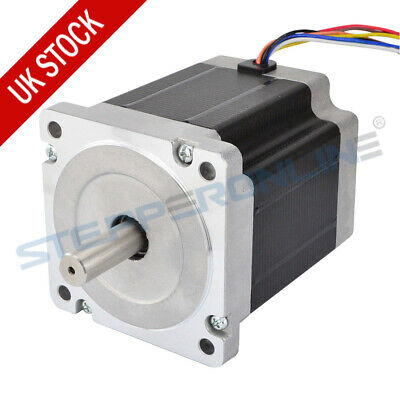 Nema 34 Stepper Motor 7.07Nm 8-wire 98mm Length CNC Machine/CNC Milling Router