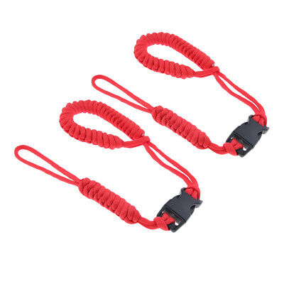 2pcs Classic Camera Wrist Lanyard Strap Braided Paracord Strong Weave Cord