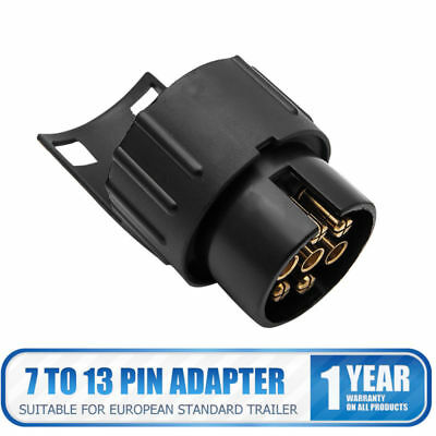 Car Trailer Truck 13 pin to 7 pin Adapter Towbar Towing Socket Plug Converter