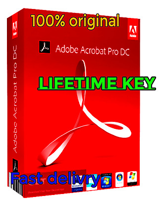 ADOBE ACROBAT PRO DC 2019 (ACTIVATION KEY) software PDF FOR Windows lifetime key