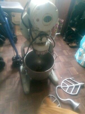 Vintage Hobart electric mixer, accessories - collect only from BS7