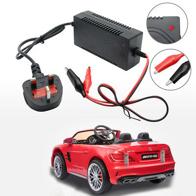 Toy Car Battery Charger Combo LONG TYPE 6v 5ah Battery & 6 Volt Charger 1A 10ah