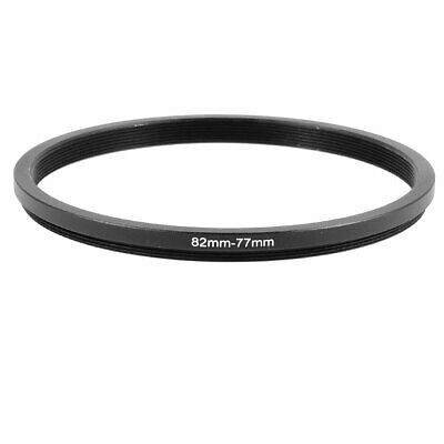 82mm to 77mm Aluminum Step-Down Filter Ring Adapter for Camera