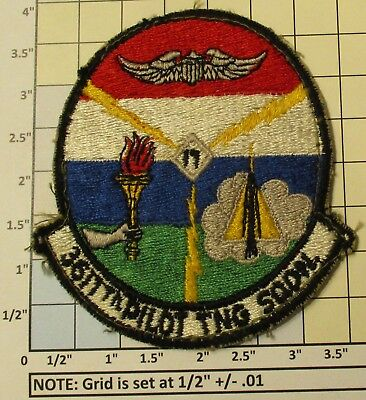 Usaf Military Patch Air Force 3611Th Pilot Training Squadron Oldie