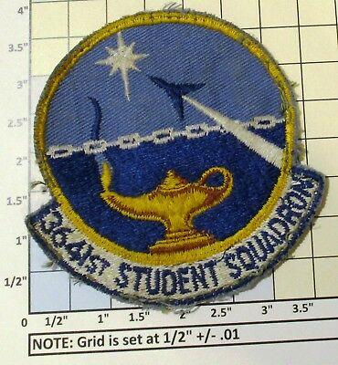 Usaf Military Patch Air Force 3641St Student Squadron Oldie On Twill