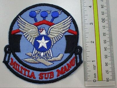 Usaf Military Patch Air Force 123Rd Combat Support Squadron Ang - Oldie