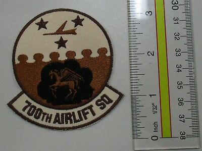 Usaf Military Patch Air Force 700Th Airlift Squadron