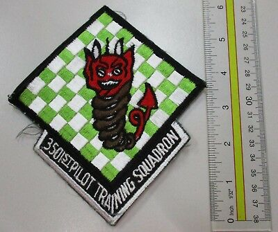 Usaf Military Patch Air Force 3501St Pilot Training Squadron - Oldie - Extra Tab