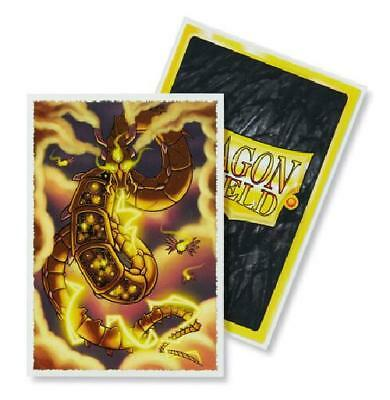 Dragon Shield Japanese Size Art Syber 60ct Sleeves (AT-12603) New Sleeves