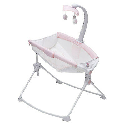 Beautyrest Deluxe 3-in-1 Incline Baby Rocker, Feeder, & Sleeper, Minnie Mouse