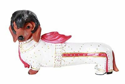 "Egift ""Elvis the King"" Doxy Daschund Weiner Dog Figurine Collectible"