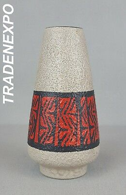 Vintage 60-70s DUMLER AND BREIDEN KERAMIK Vase West German Pottery Fat Lava Era