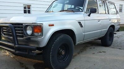 1987 Toyota Land Cruiser  1987 Toyota Land Cruiser fj60