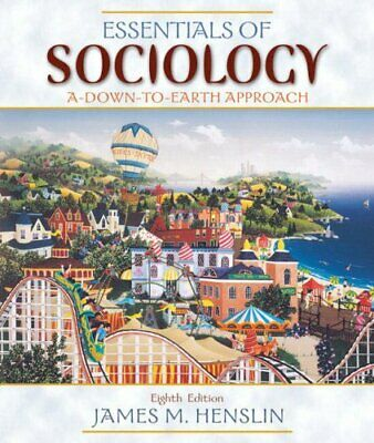 Essentials of Sociology: A Down-to-Earth Appro... by Henslin, James M. Paperback