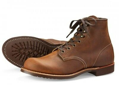 WING Hommes 3343 Héritage Blacksmith BOTTES RED Travail xCodBe