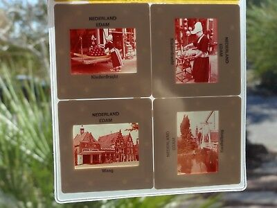 Edam Volendam Netherlands Slide Set Holland Hermetically Sealed Parlour Travels