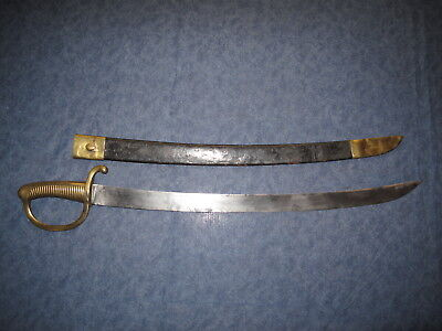 French Klingental Arsenal Short Sword With Inspection Marks