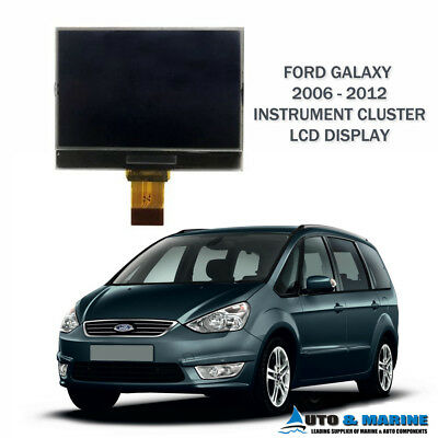 FORD GALAXY LCD VDO DISPLAY SCREEN for INSTRUMENT CLUSTER 2006 - 2012 ..NEW..