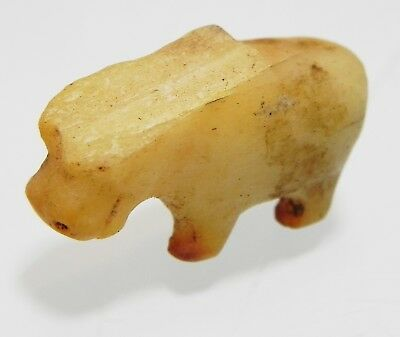 Zurqieh - As10020- Ancient Egyptian Alabaster Hippo. 1500 - 1100 B.c