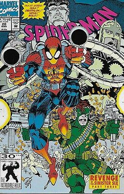 Spider-Man No.20 / 1992 Revenge of the Sinister Six / Solo / Erik Larsen