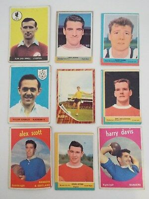 A&BC Cards Footballers Mixed Cards x 9 Cards See Picture Lot 18
