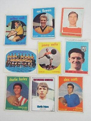 A&BC Cards Footballers Mixed Cards x 9 Cards See Picture Lot 19