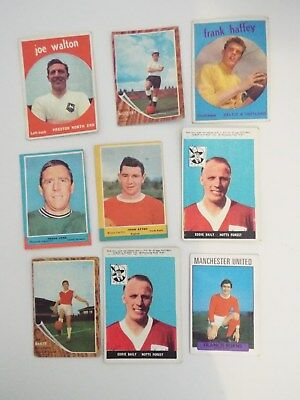 A&BC Cards Footballers Mixed Cards x 9 Cards See Picture Lot 23