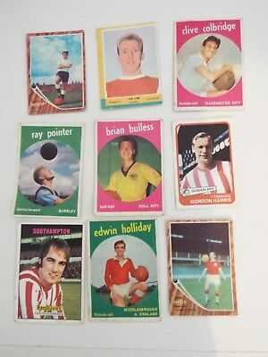 A&BC Cards Footballers Mixed Cards x 9 Cards See Picture Lot 26