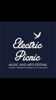 Two weekend electric picnic tickets hard copies